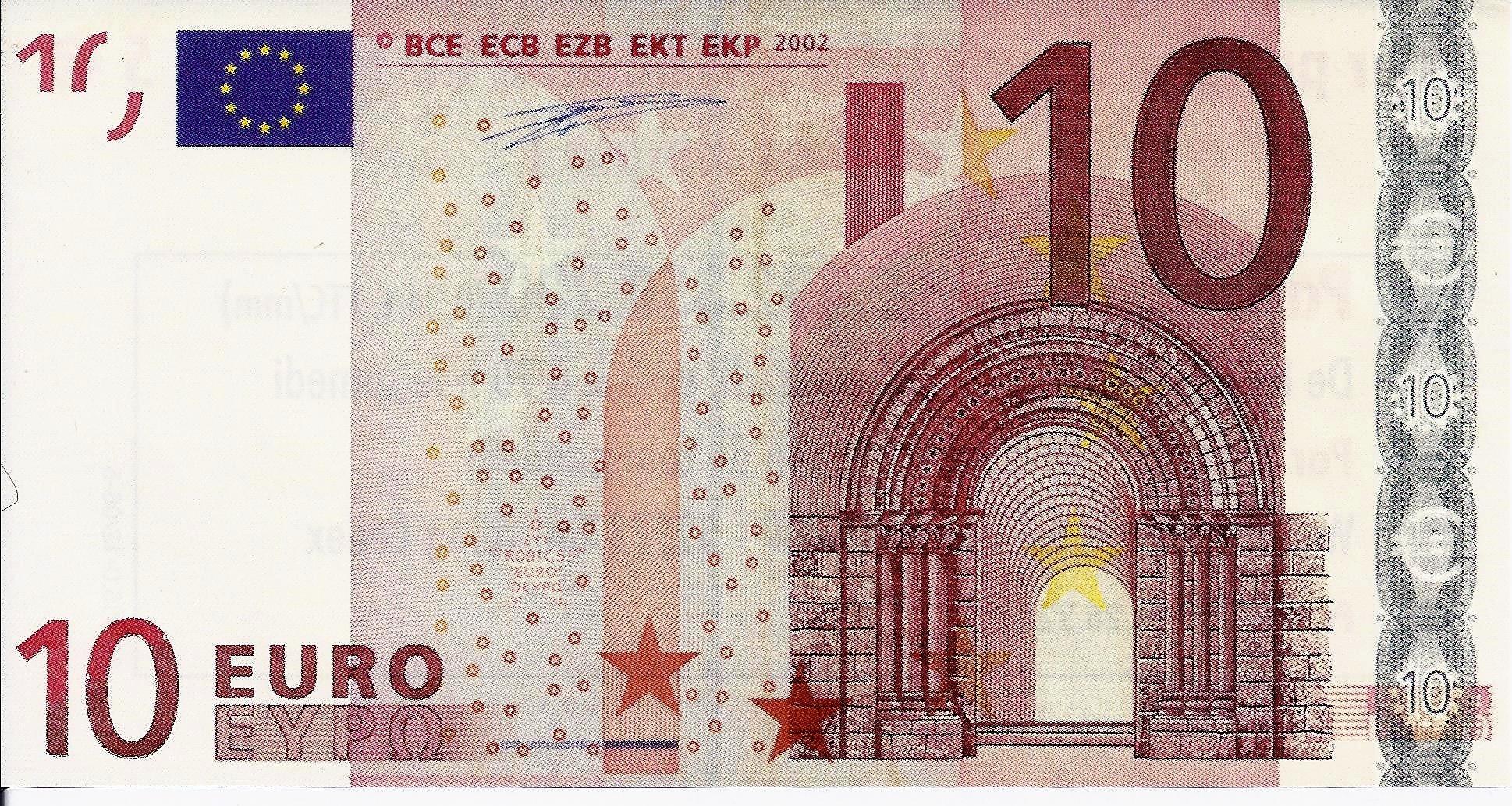France - Billet Publicitaire De 10 Euros - Witt International - Neuf concernant Pieces Et Billets Euros À Imprimer