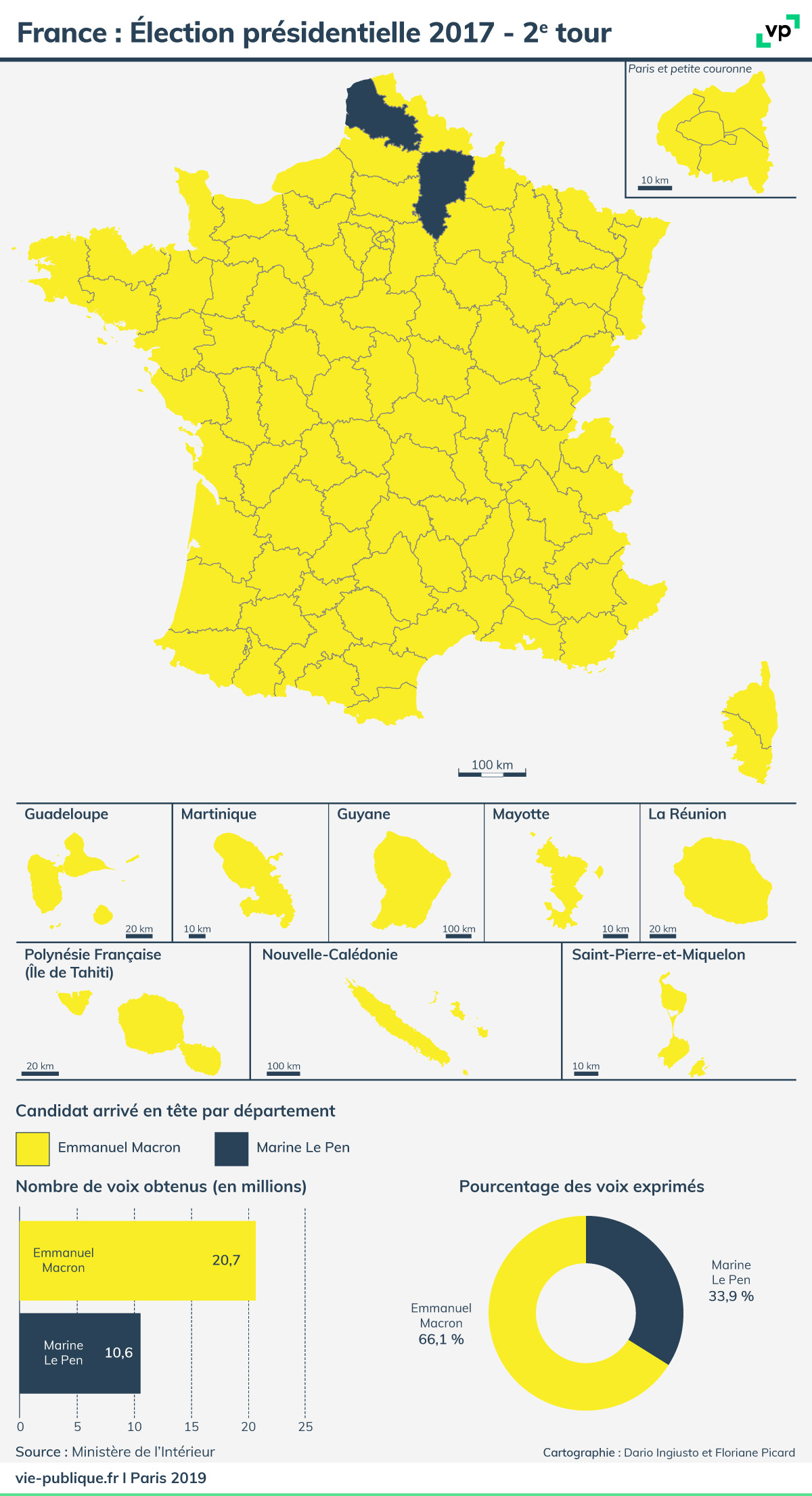 France : Élection Présidentielle 2017 - Deuxième Tour | Vie concernant Carte Des Départements De France 2017