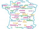 France Géographie dedans Carte De France Grande Ville