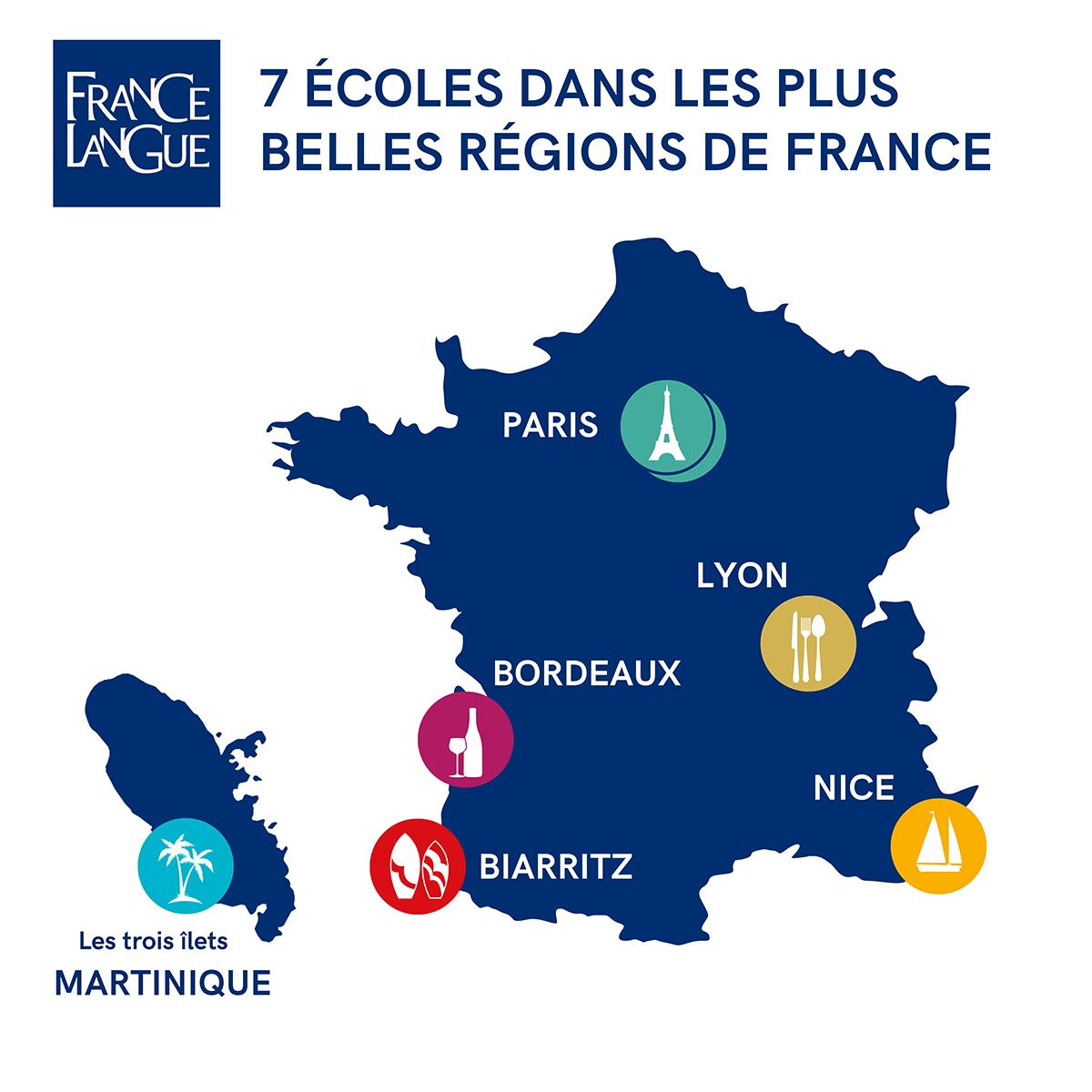 France Langue Spécialiste Du Français Langue Étrangère concernant Apprendre Les Régions De France
