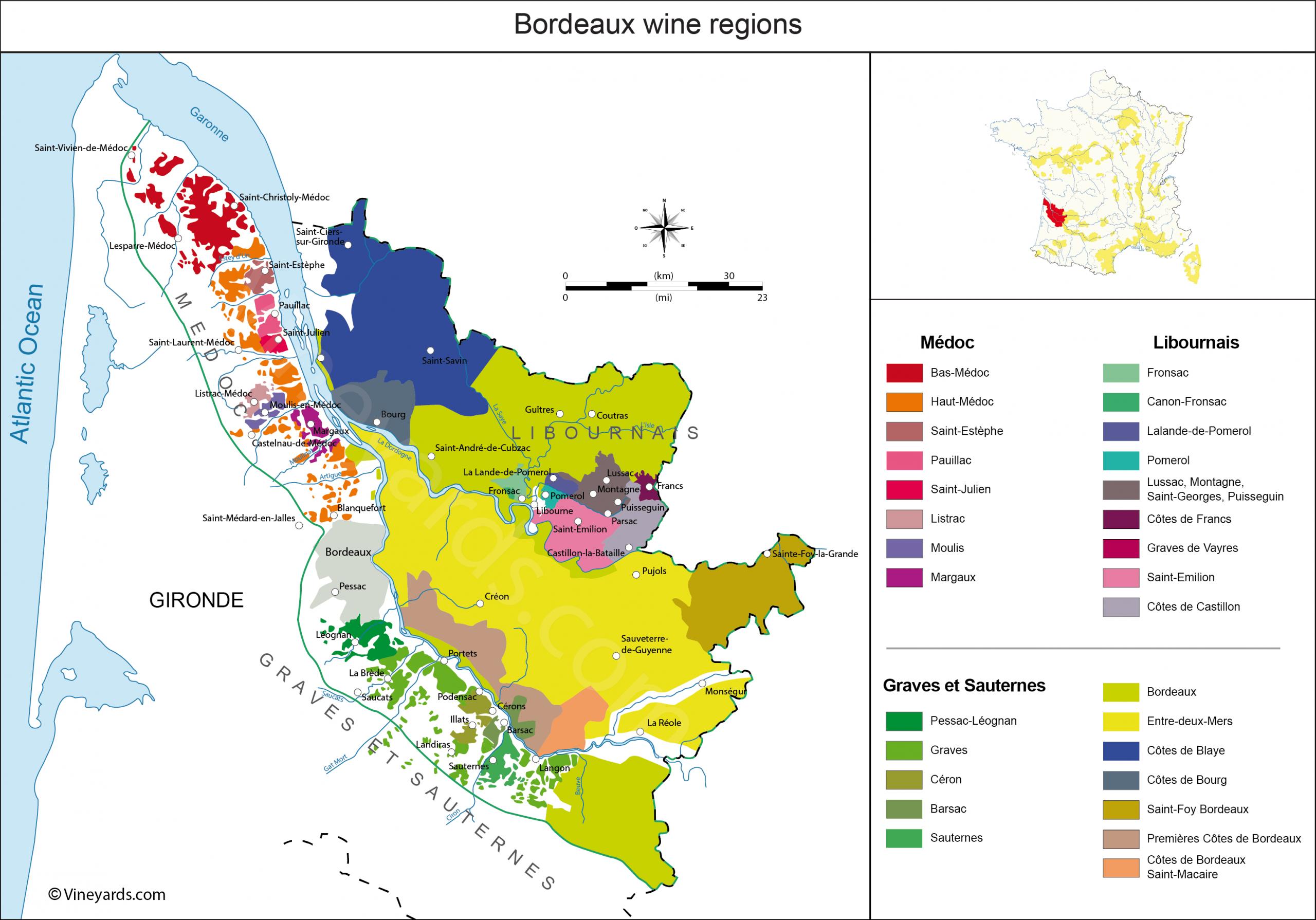 France Map Of Vineyards Wine Regions avec Liste Region De France