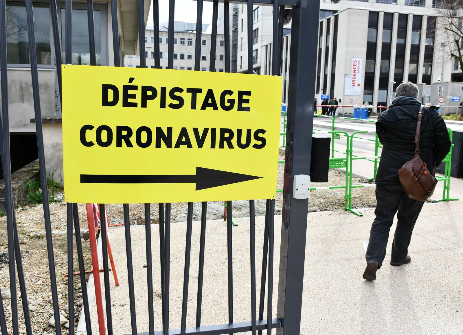 France-Monde | Graphie : Le Nombre De Cas De Coronavirus serapportantà Nombre De Region