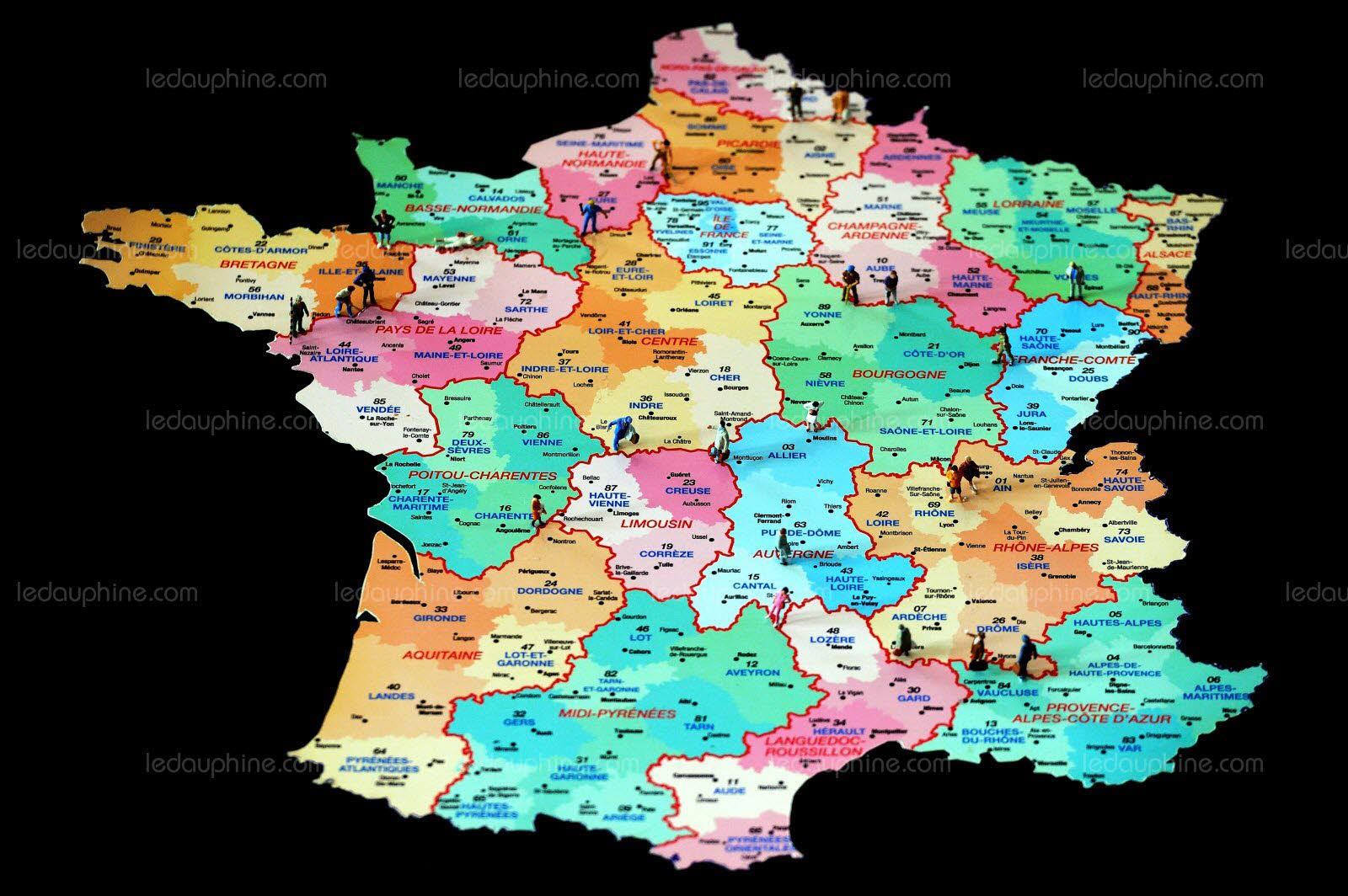 France-Monde | La Carte Des 13 Régions Votée Après Un Baroud avec Carte Des 13 Régions