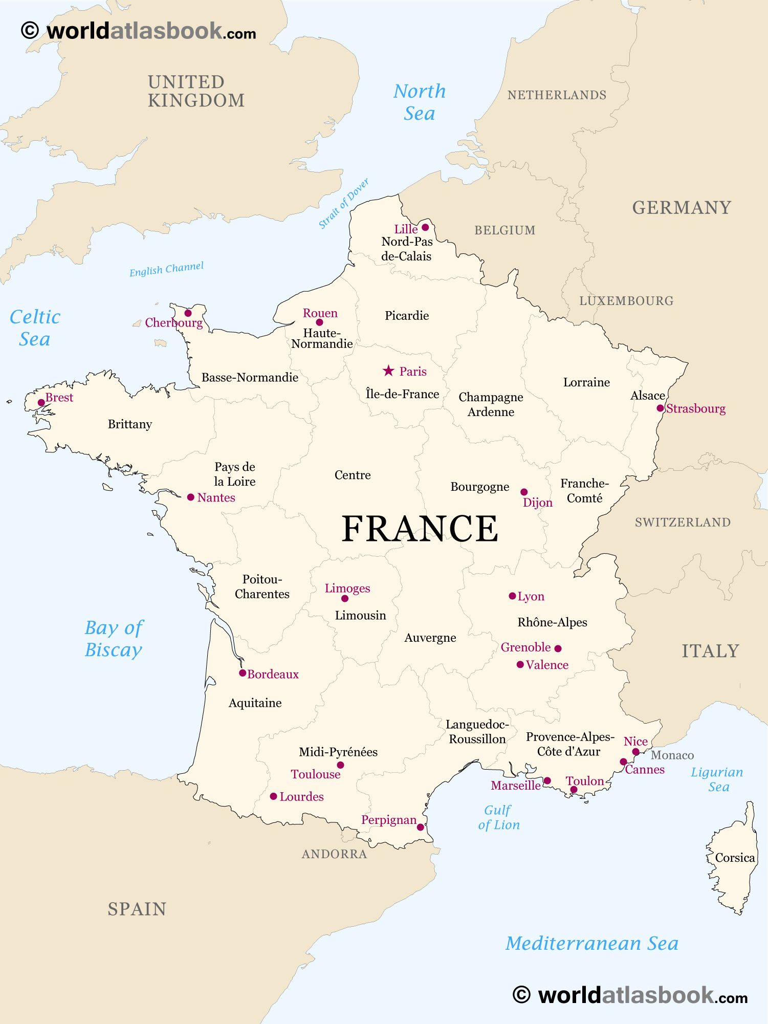 France-Region-Map 1,501×2,001 Pixels | France Map à Decoupage Region France
