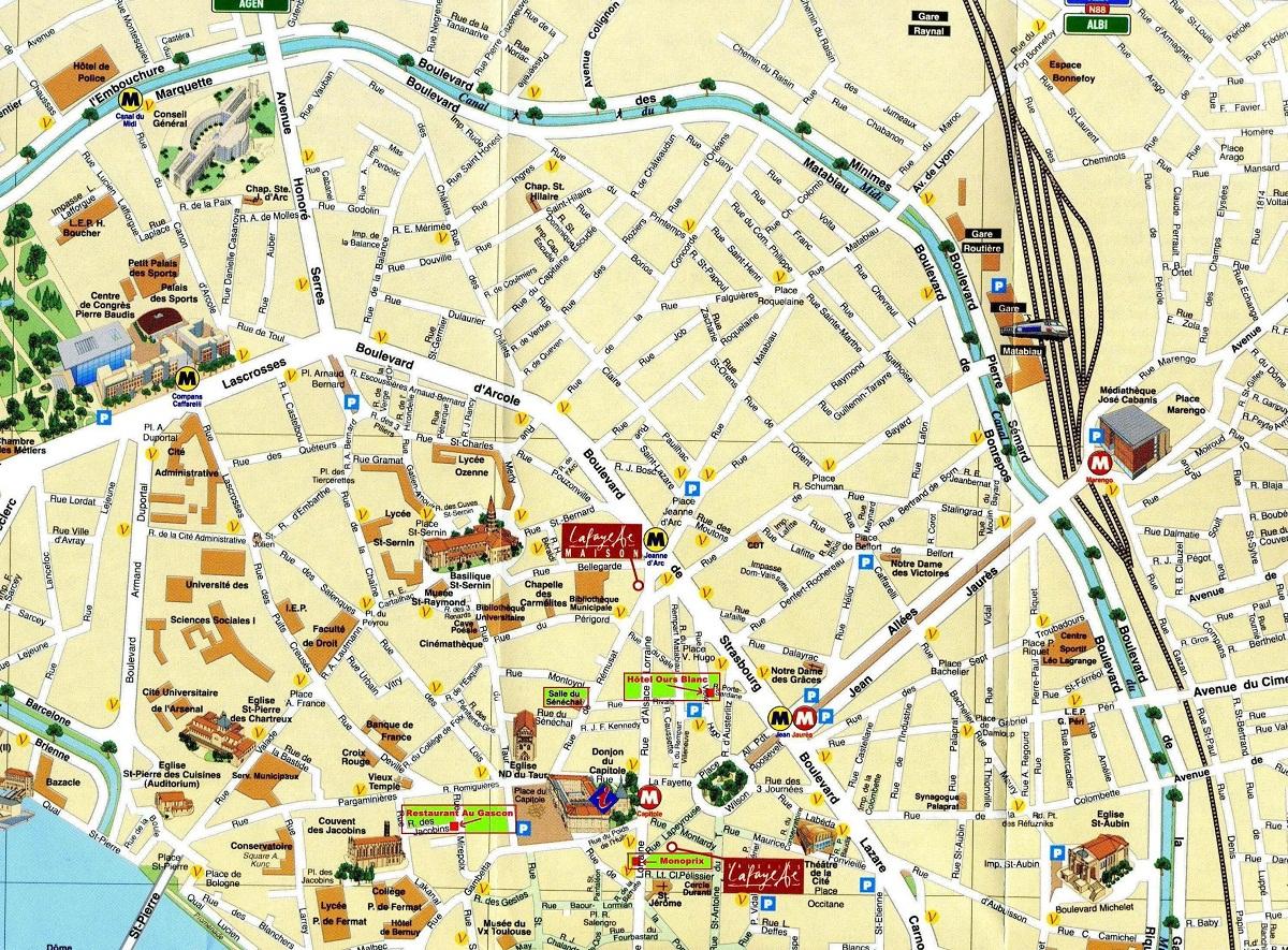 France Villes De France tout Carte De France Ludique