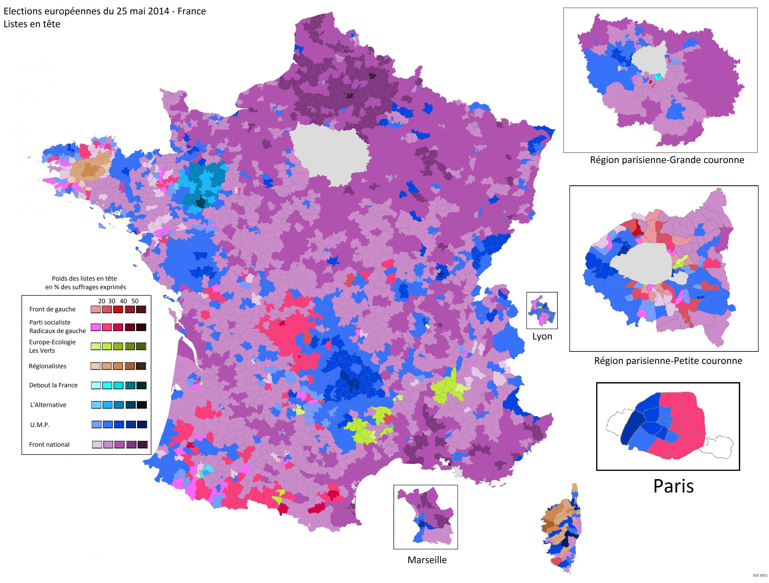 France | World Elections destiné Liste Region De France