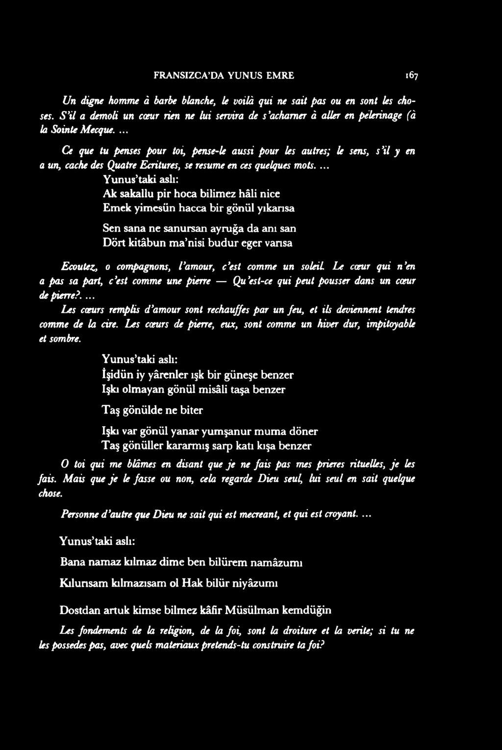 Fransizca Da Yunus Emre* - Pdf Free Download serapportantà Un Mot Pour Quatre Images