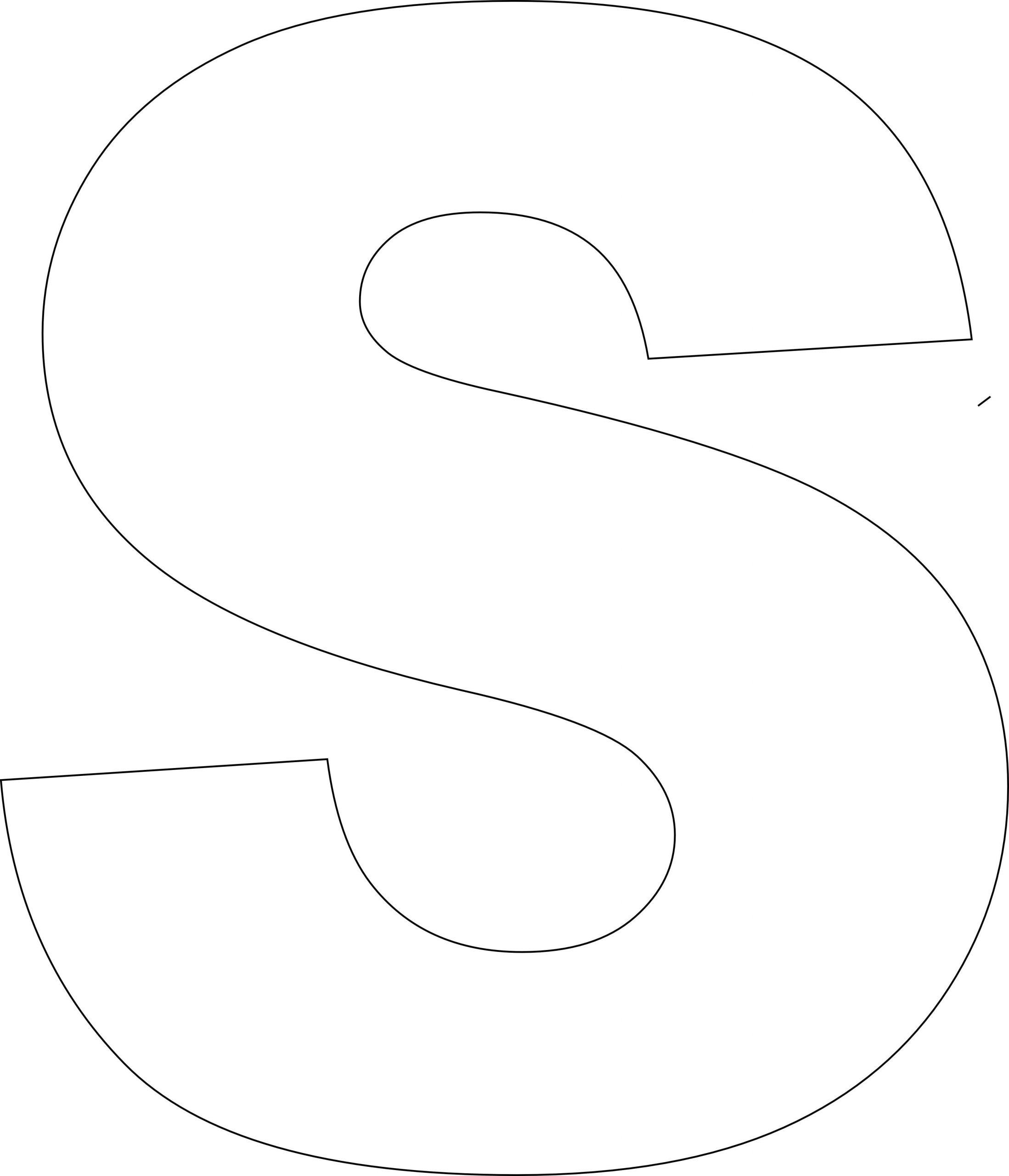 Free Printable Upper Case Alphabet Template | Lettres tout Modele De Lettre Alphabet