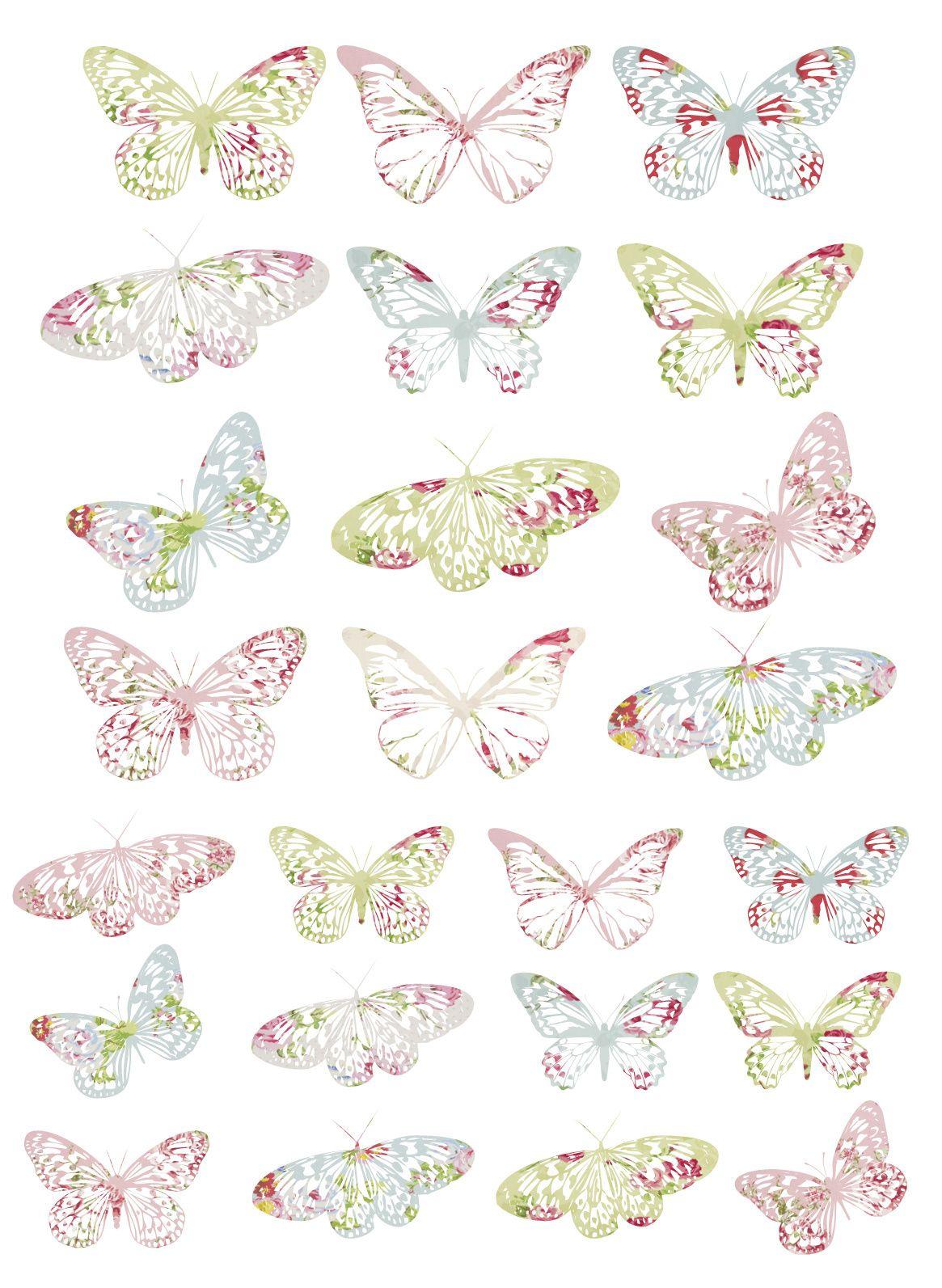 Free Printable Vintage Butterfly Tags | Papillon Imprimable concernant Etiquette Papillon A Imprimer
