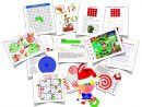 French: All My Christmas Resources) tout Rebus Noel