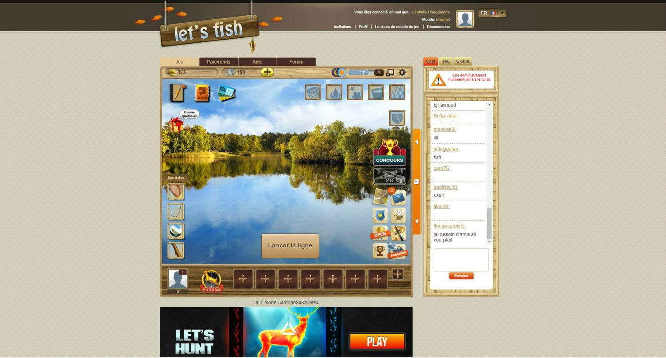 Frénésie De Pêche En Ligne En Mode Plein Écran pour Poisson Rouge Jeux Gratuit En Ligne