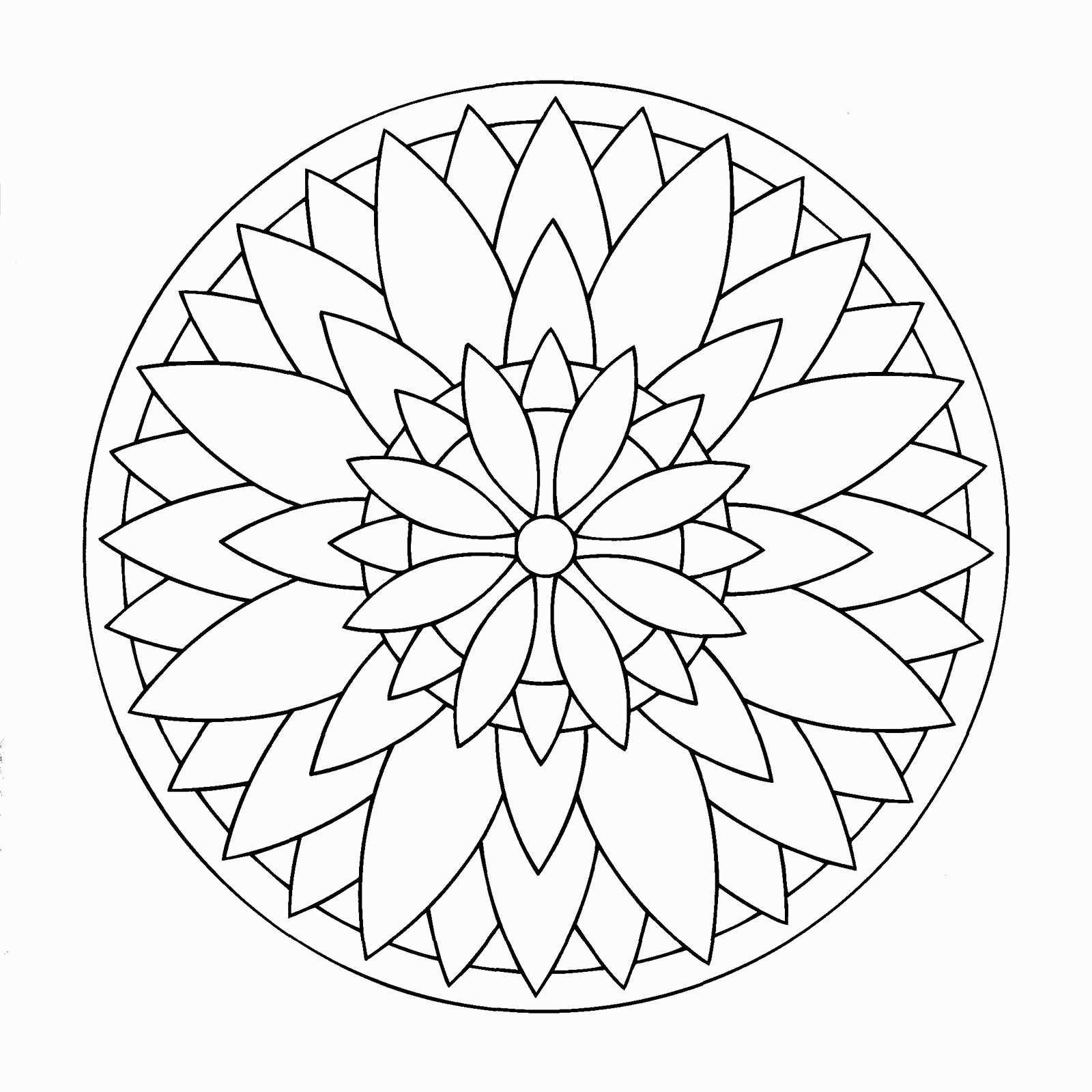 Frisch Dessins Mandala À Imprimer #färbung #malvorlagen destiné Rosace A Imprimer