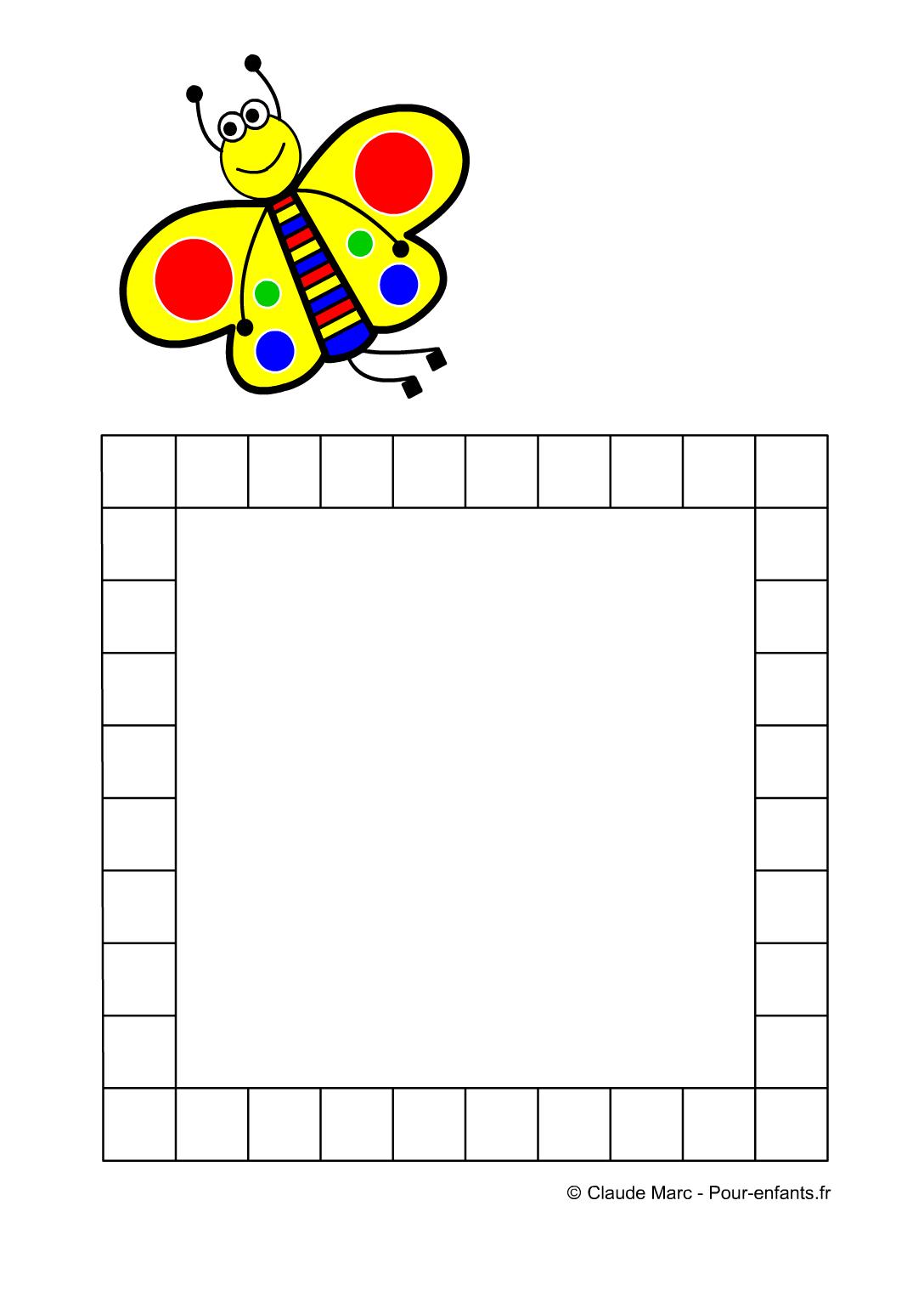 Frise Maternelle | Jeux A Imprimer Fiches De Frises pour Activités Moyenne Section Maternelle À Imprimer