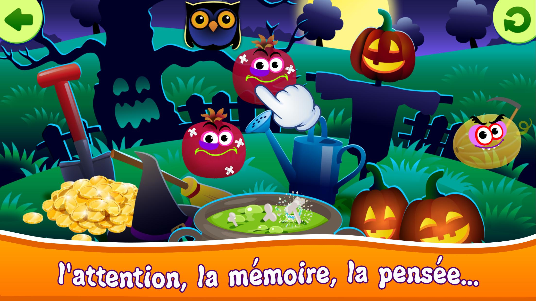Funny Food! Jeux Educatif Pour Enfants Gratuit 2 3 Pour à Jeux Educatif Enfant Gratuit