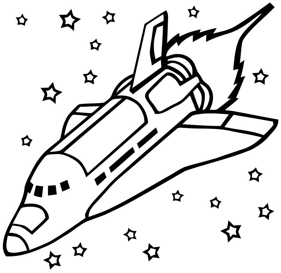 Fusée #42 (Transport) – Coloriages À Imprimer pour Fusée À Imprimer
