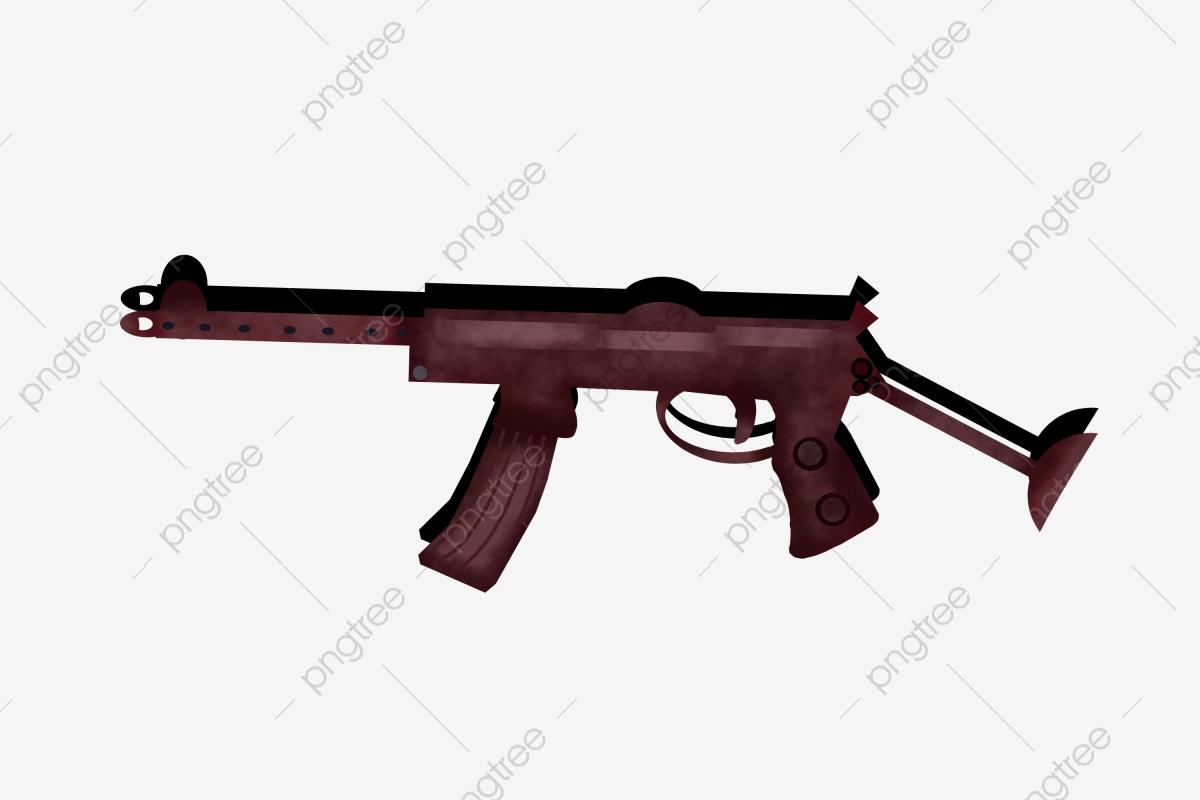 Fusil Semi Automatique Illustration De Dessin Animé Arme avec Comment Dessiner Un Fusil