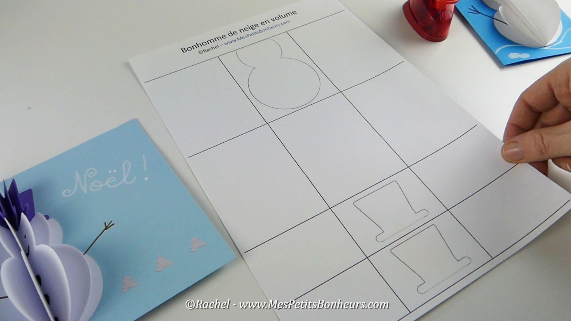 Gabarit-Bonhomme-De-Neige-Modele-A-Decouper | Bricolage avec Modèle Bonhomme De Neige À Découper