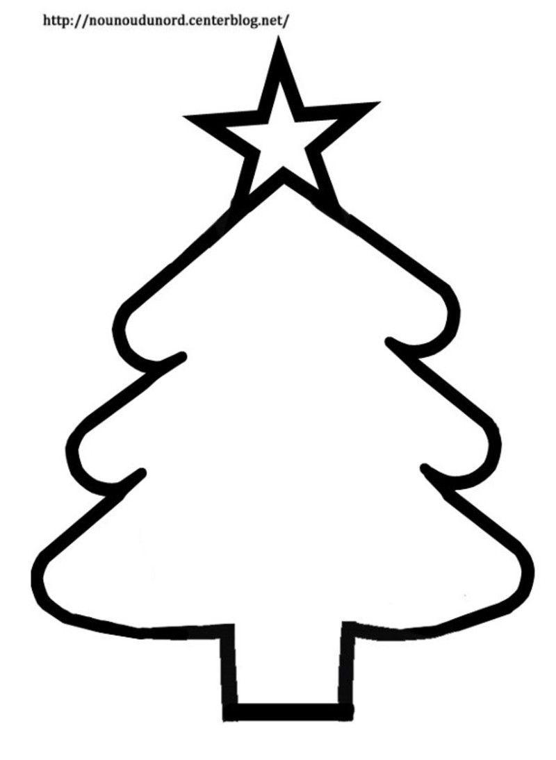 Gabarit Du Sapin Pour Décoration De Fenêtre pour Gabarit Sapin De Noel
