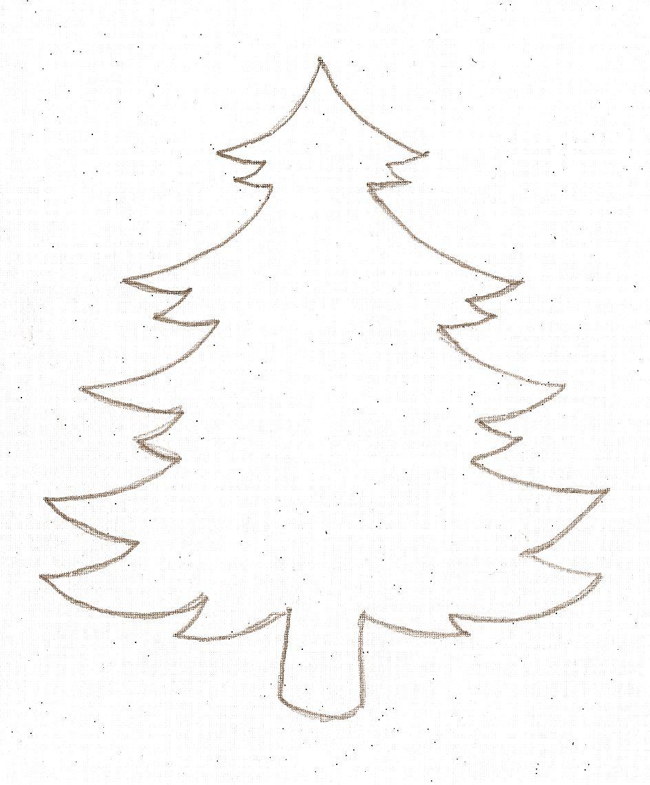 Gabarit Sapin | Coloriage Noel, Dessin Noel, Déco Noel Feutrine dedans Gabarit Sapin De Noel