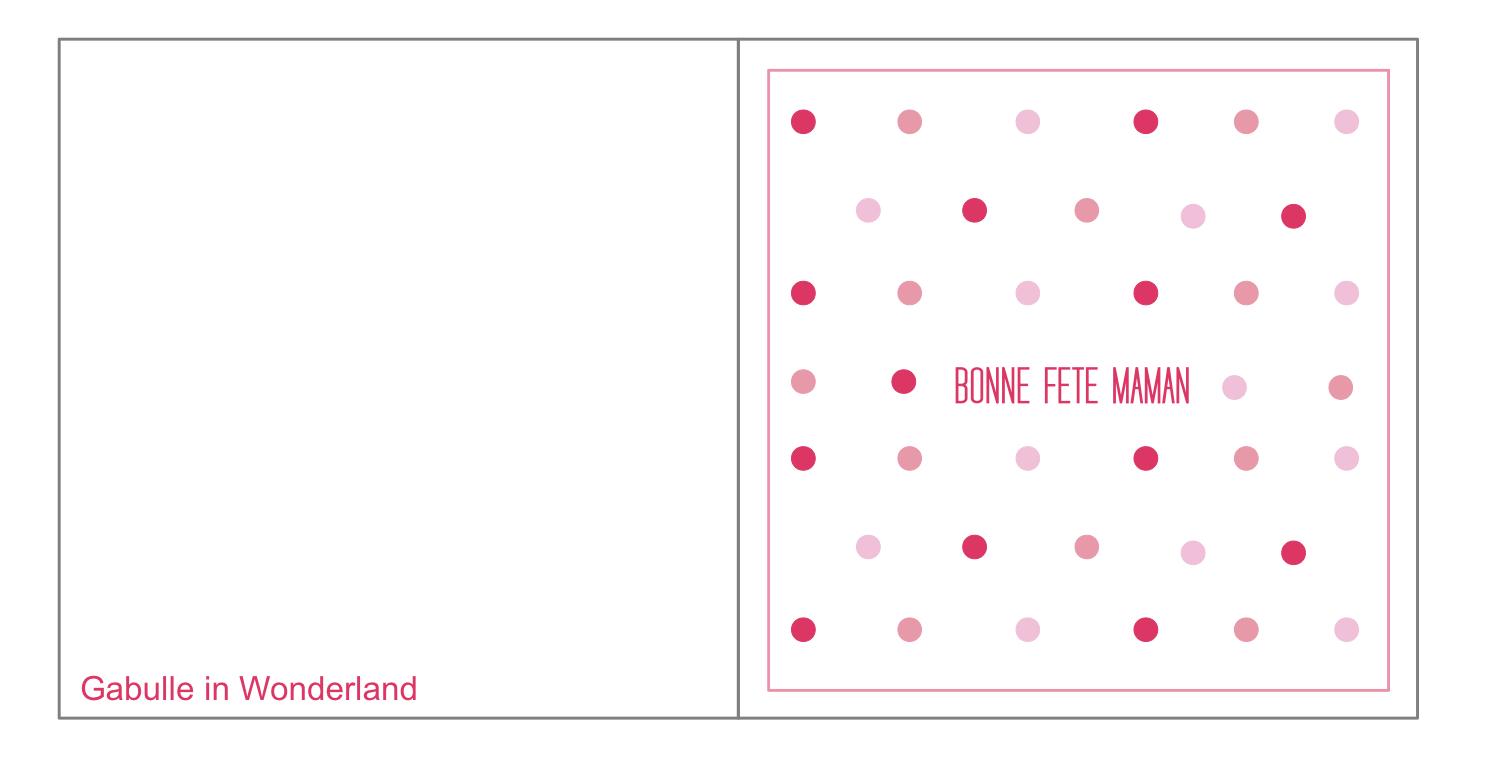 Gabulle In Wonderland: Carte À Imprimer Pour La Fête Des Mères avec Carte A Imprimer Fete Des Meres