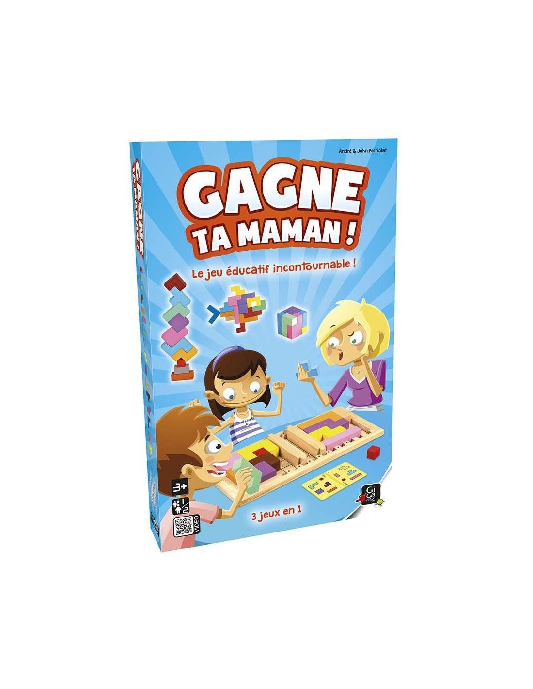 Gagne Ta Maman - Jeu Educatif - Jeu Gigamic intérieur Jeux Educatif Gratuit En Ligne