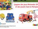 Gagnez Des Jouets Sam Le Pompier • Mes Échantillons Gratuits encequiconcerne Jeux Gratuit De Pompier