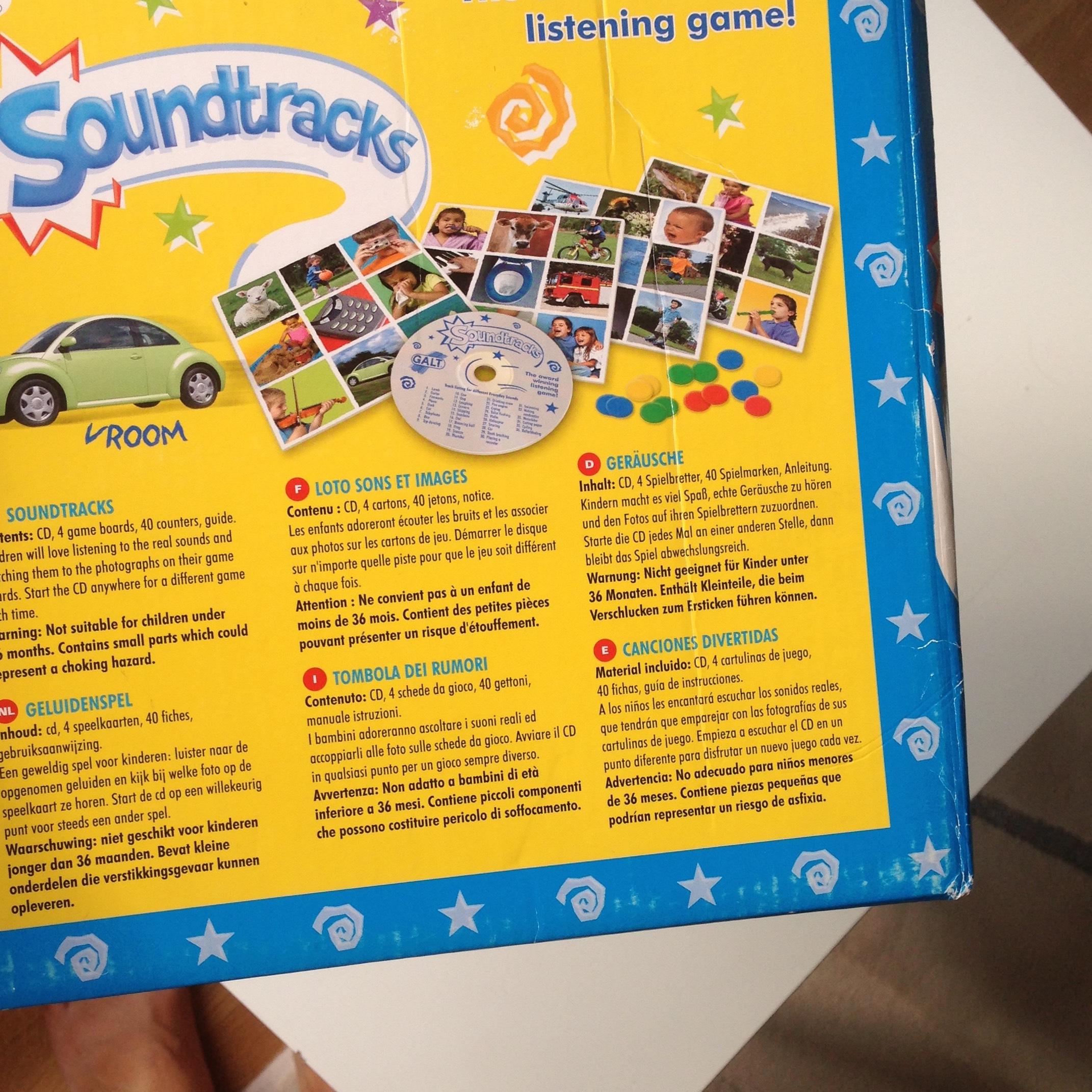 Galt Soundtracks Oyun concernant Mot Pour Enfant