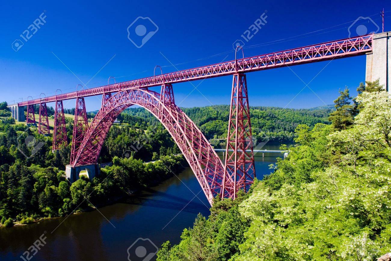 Garabit Viaduct, Cantal Département, Auvergne, France dedans Liste De Departement De France