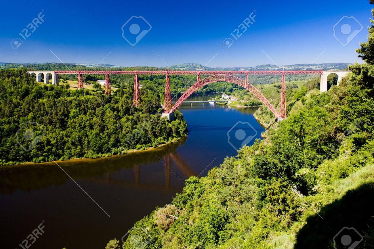 Garabit Viaduct, Cantal Département, Auvergne, France destiné Liste De Departement De France