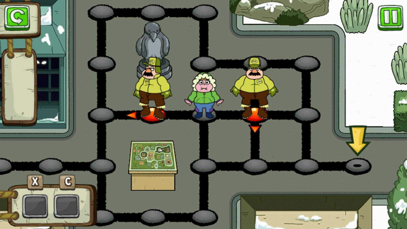 Gardien De Zoo Farceur | Jeux Clarence | Cartoon Network avec Jeux De Gardien