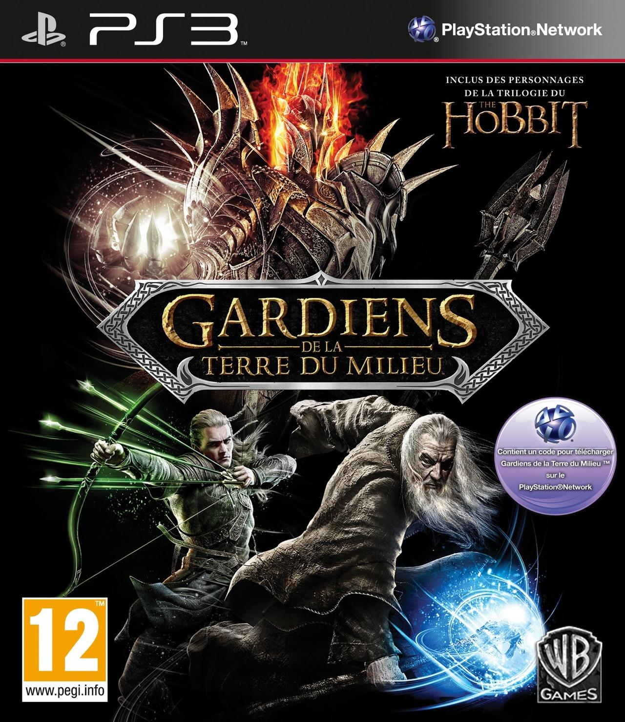 Gardiens De La Terre Du Milieu Sur Playstation 3 - Jeuxvideo serapportantà Jeux De Gardien