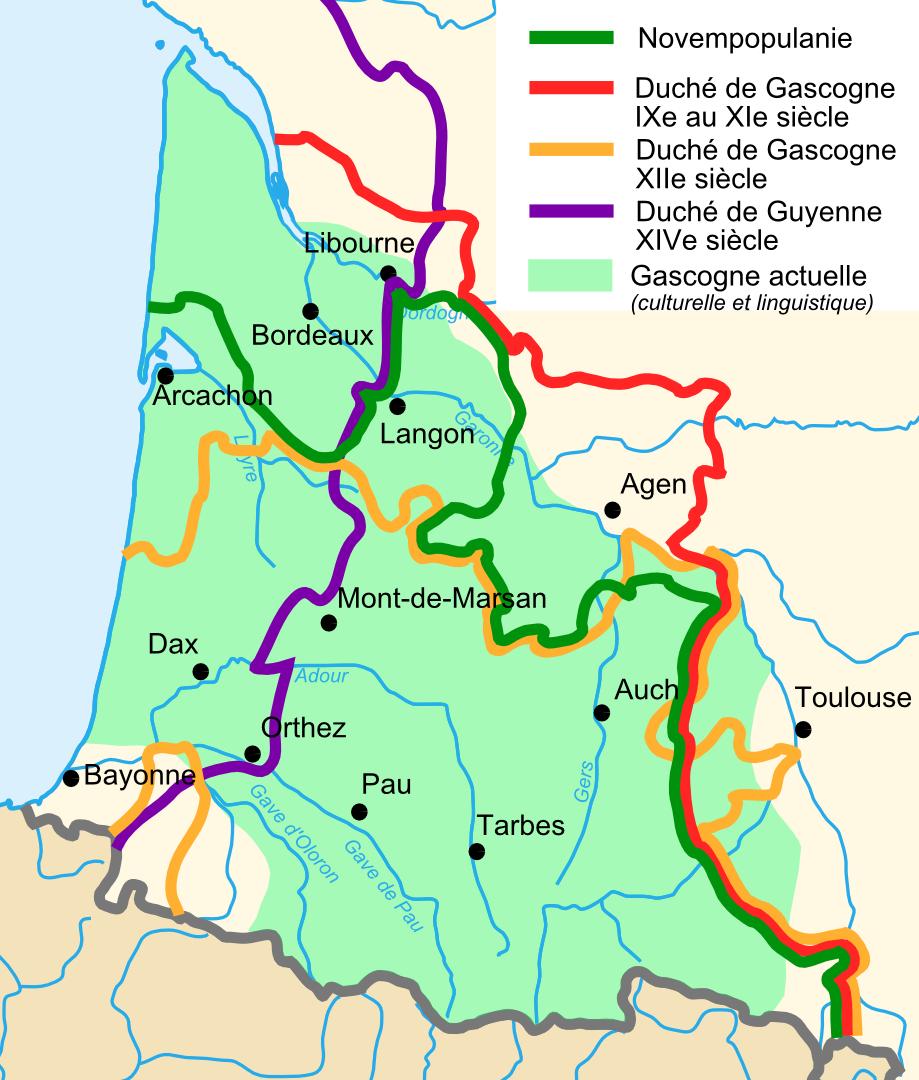 Gascogne — Wikipédia avec Régions De France Liste