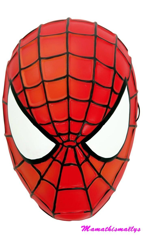 Gâteau D'anniversaire Spiderman - La Petite Cuisine De Nini avec Tete Spiderman A Imprimer
