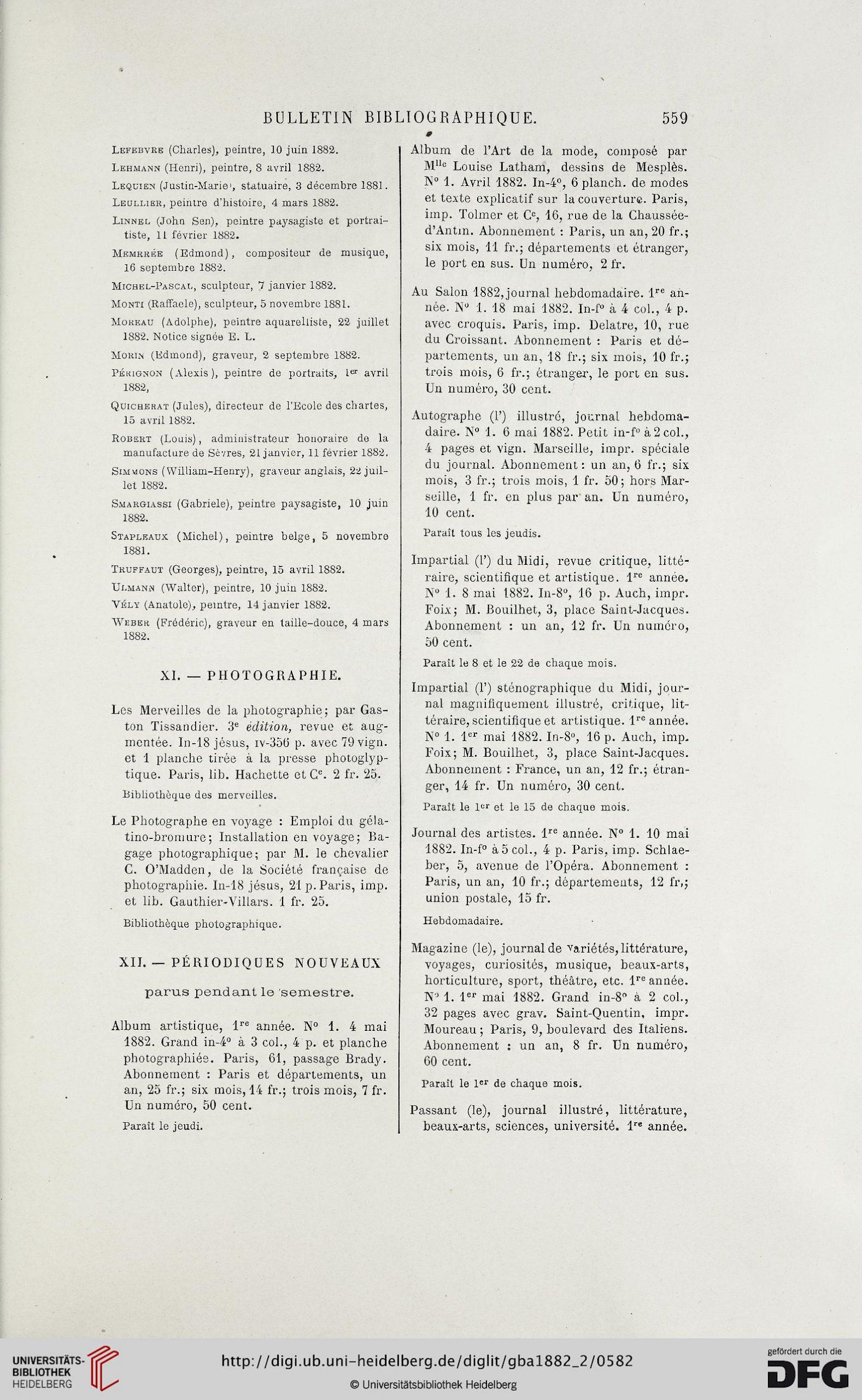 Gazette Des Beaux-Arts: La Doyenne Des Revues D'art (2.pér dedans Numéro Des Départements