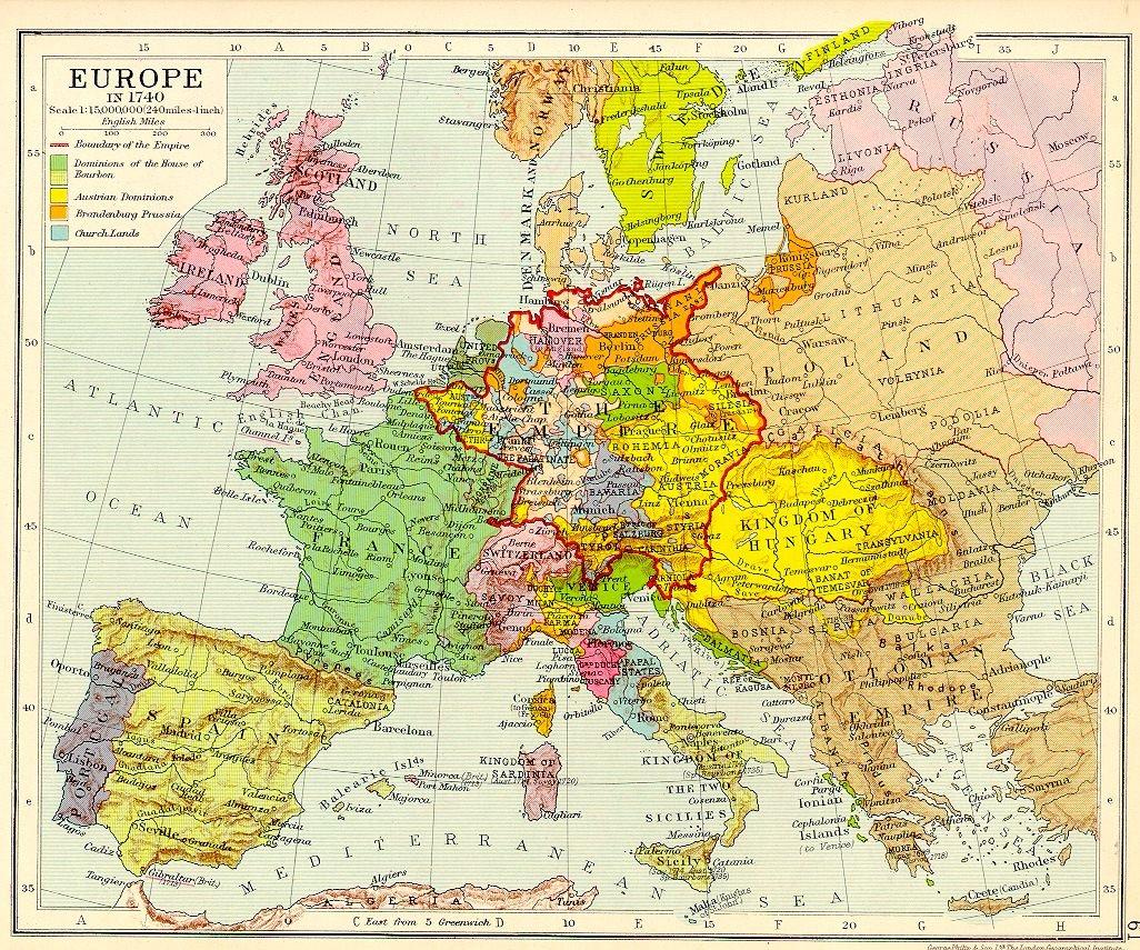 Généalogie G&h : L'alsace</a> intérieur Carte De L Europe Détaillée
