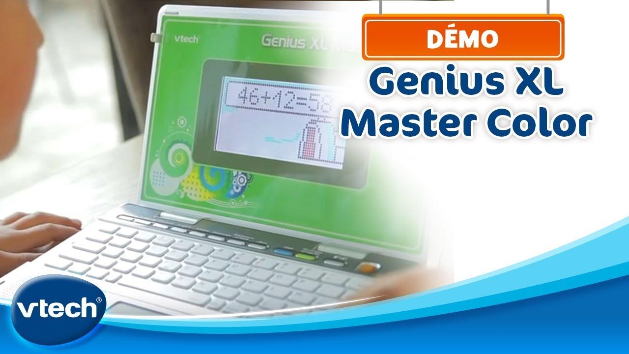 Genius Xl Master Color - L'ordinateur Couleur 100% Bilingue (Cp Au Cm2) |  Vtech concernant Ordinateur Educatif Enfant