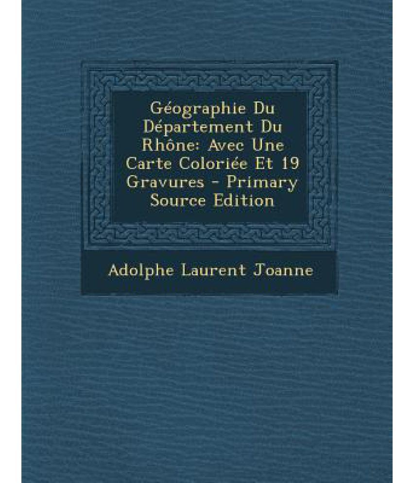Geographie Du Departement Du Rhone: Avec Une Carte Coloriee pour Carte Avec Departement
