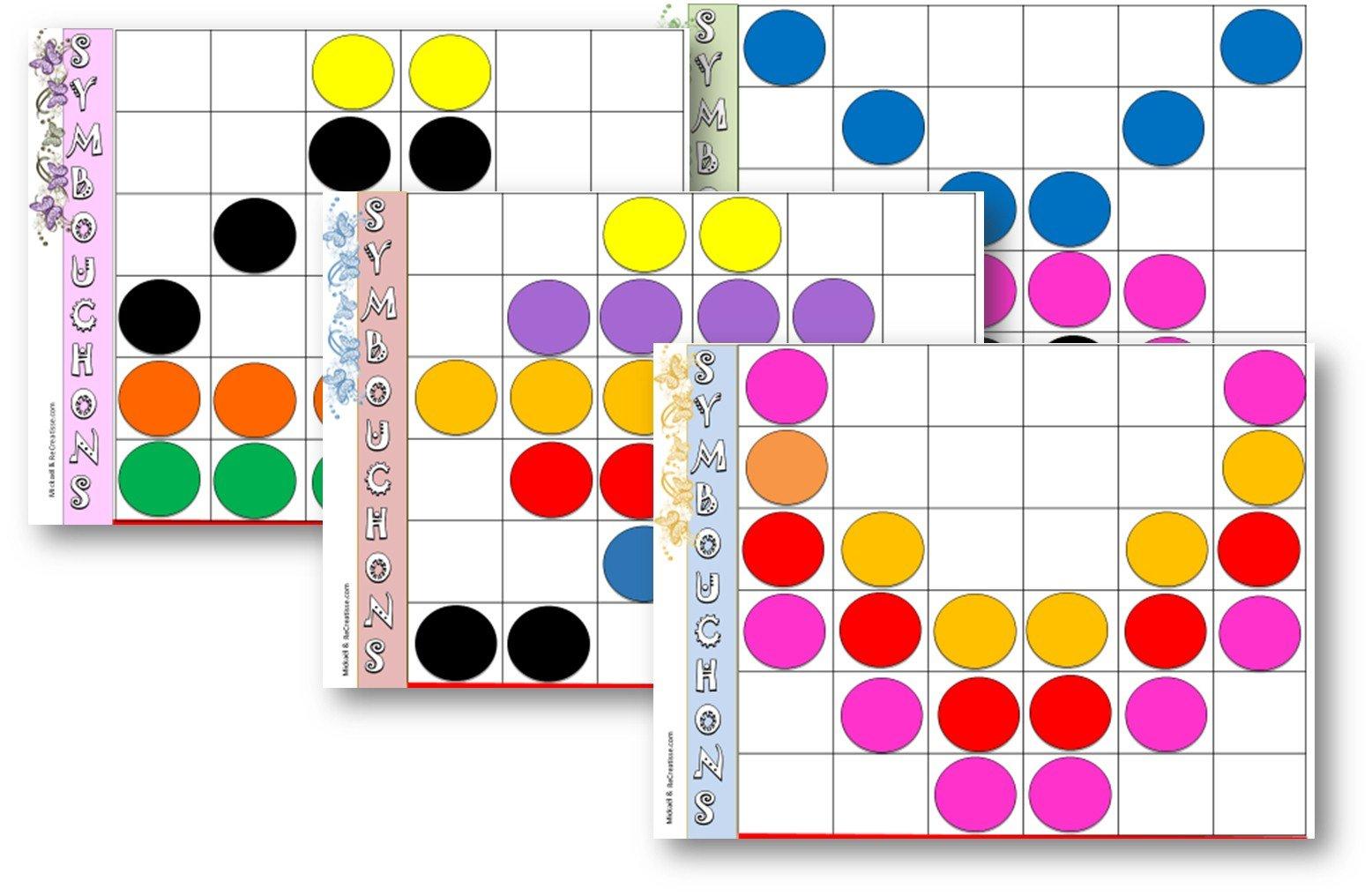 Geometrie : Ateliers Symétrie Et Exercices • Recreatisse dedans Exercice Symétrie Ce1