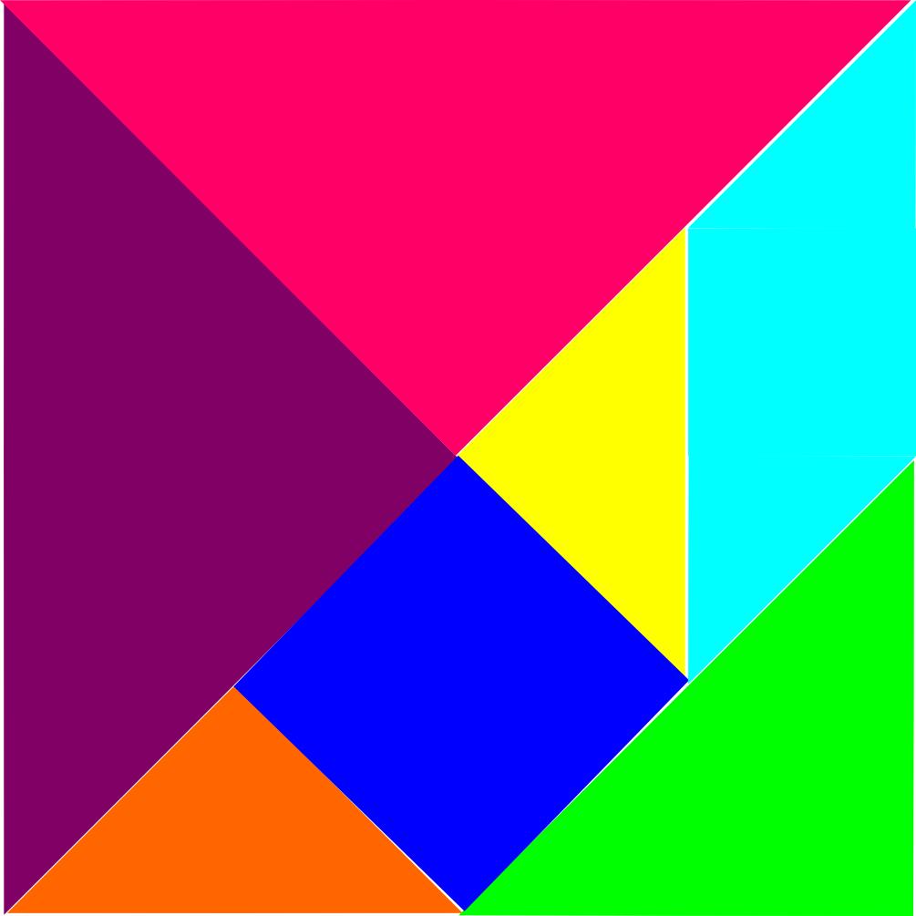 Géométrie - Miss Fanny pour Tangram Carré