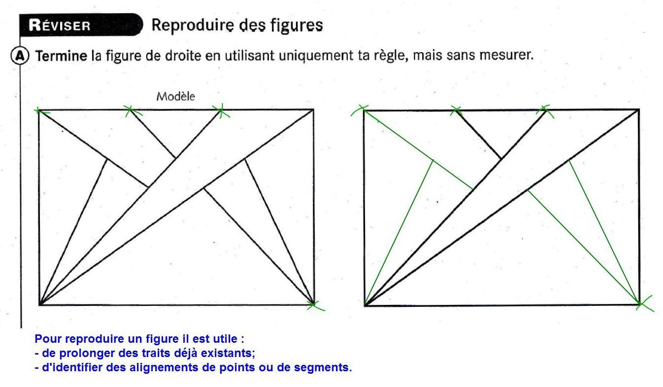 Géométrie : Reproduire Une Figure - Ce2 Bilingue Lif tout Reproduire Une Figure
