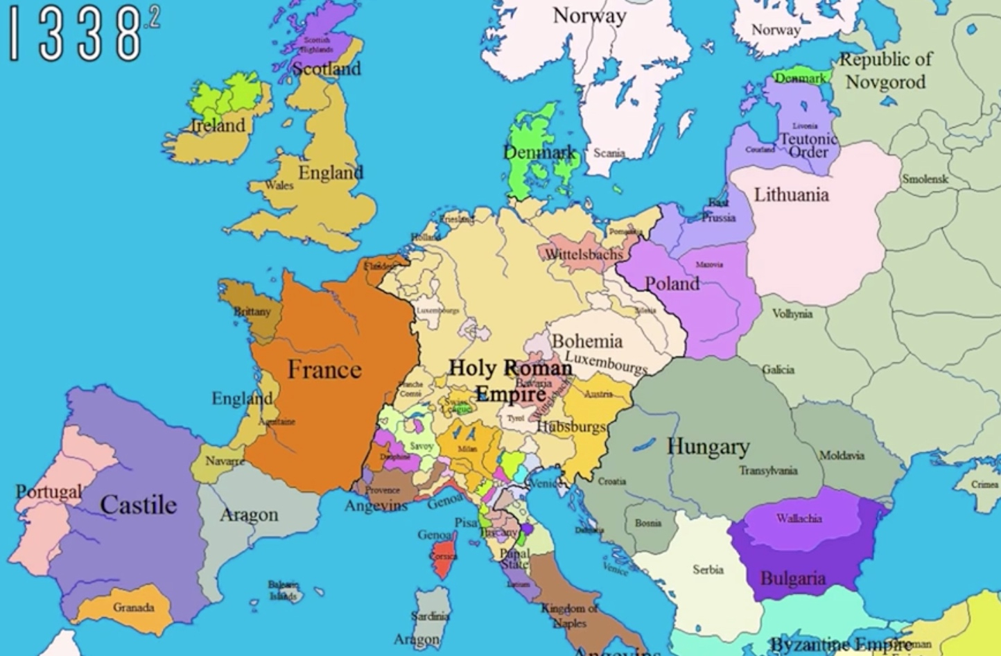 Geopolitical History Of Europe, In Maps • Populationdata à Carte D Europe 2017