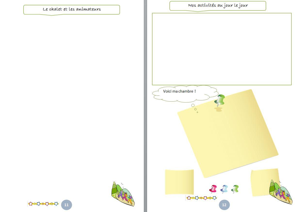 Gestion De Classe : Carnet De Classe Découverte - Un Petit encequiconcerne Journal De Vacances A Imprimer