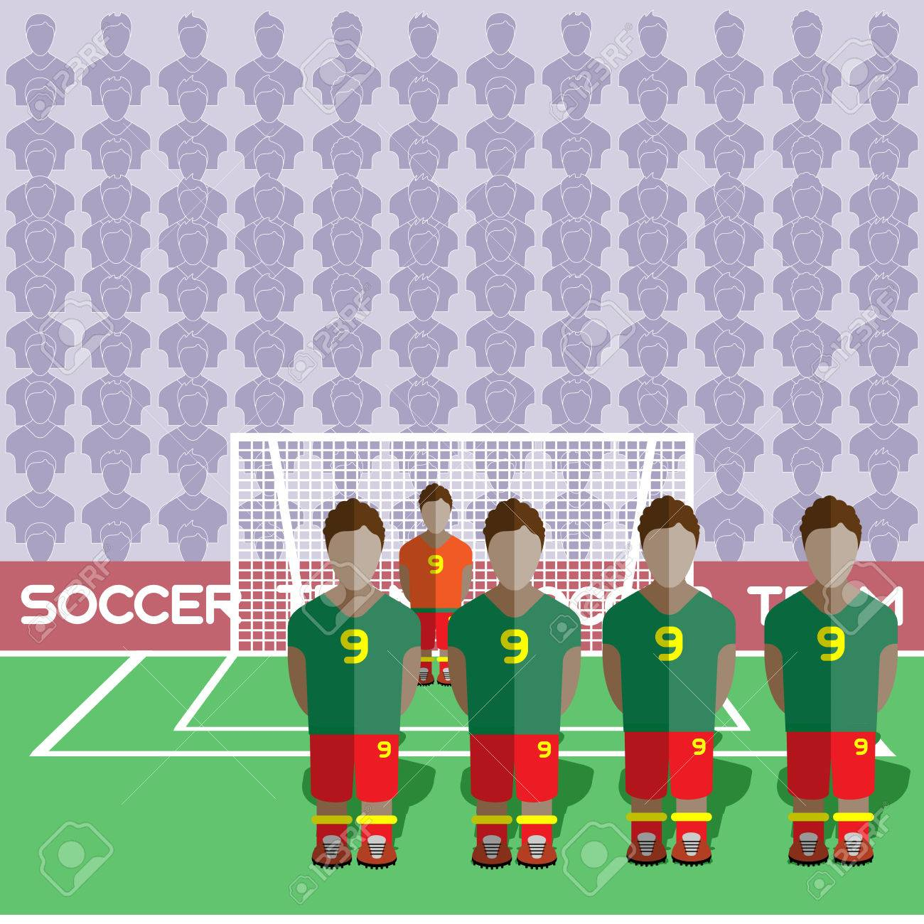 Ghana Football Club Soccer Players Silhouettes. Jeux Rmatiques Équipe  De Football Joueurs Big Set. Graphique Sportif. Les Équipes De Football encequiconcerne Jeux De Gardien