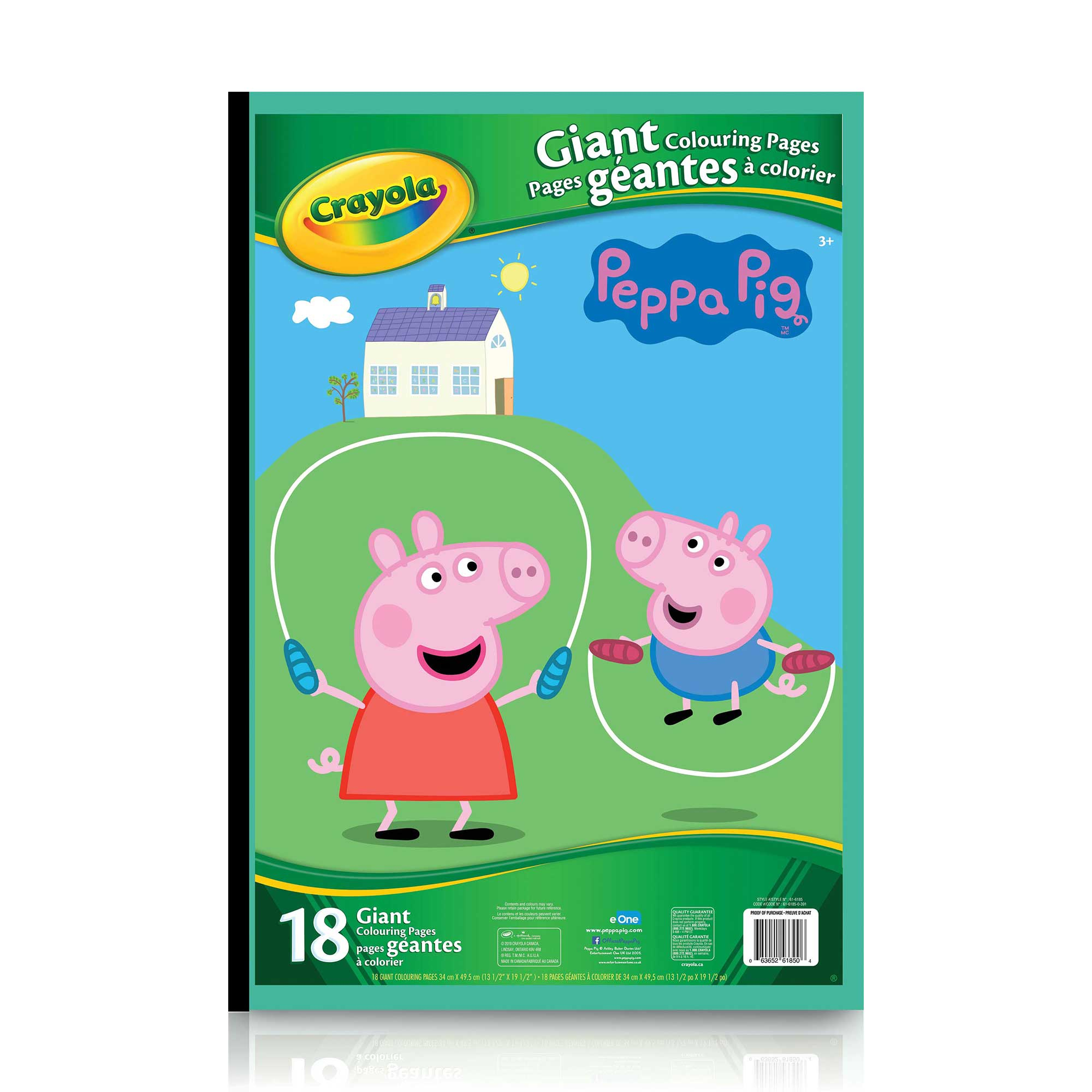Giant Colouring Pages, Peppa Pig avec Peppa Pig A Colorier