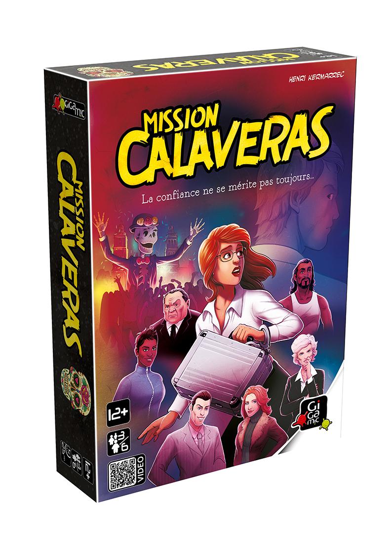 Gigamic - Jeu De Réflexion - Mission Calaveras concernant Jeux Societe Interactif