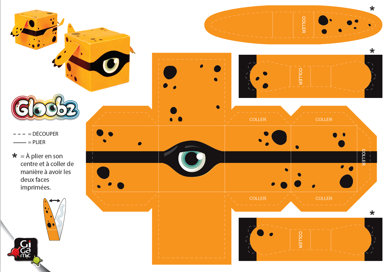 Gigamic - Paper Toy - Halloween avec Paper Toy A Imprimer