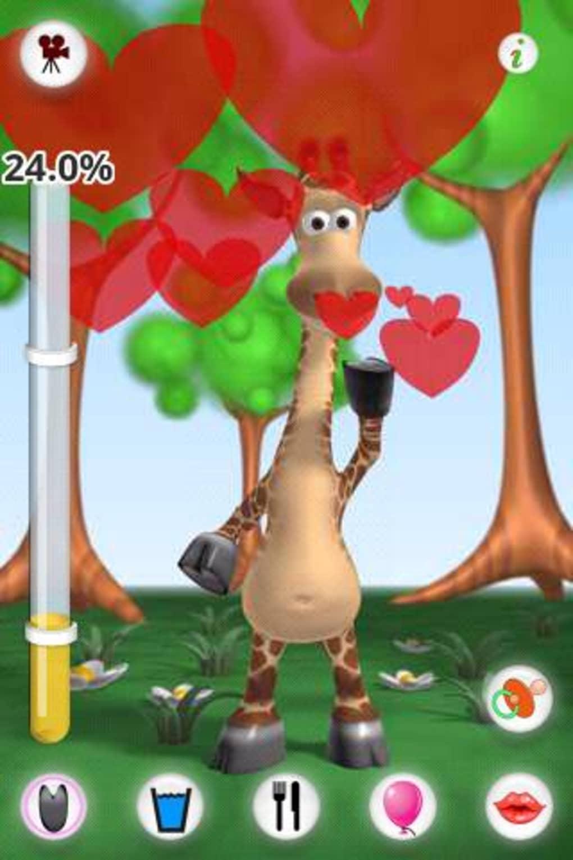 Gina La Girafe Qui Parle Pour Android - Télécharger intérieur Jeux De Girafe Gratuit