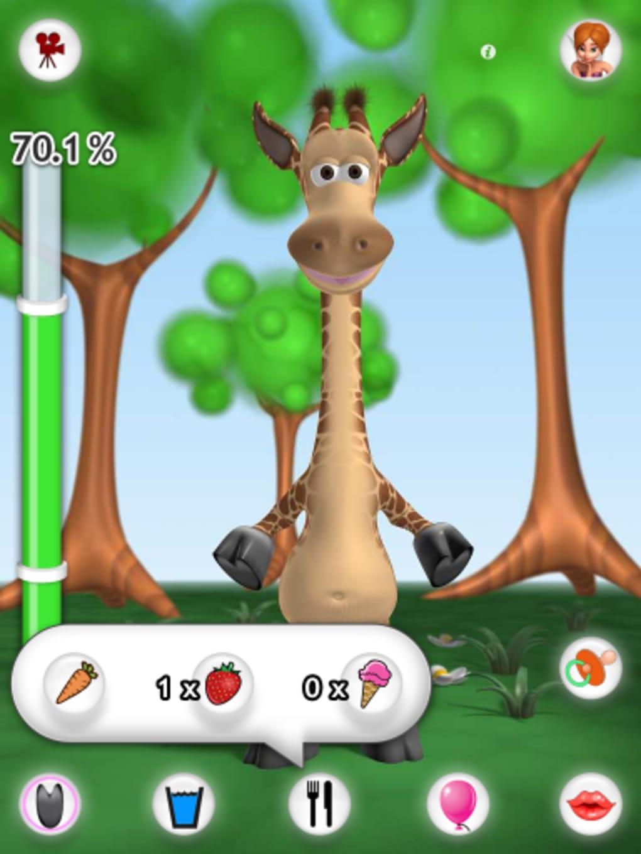 Gina La Girafe Qui Parle Pour Iphone - Télécharger avec Jeux De Girafe Gratuit