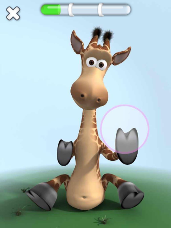 Gina La Girafe Qui Parle Pour Iphone - Télécharger destiné Jeux De Girafe Gratuit
