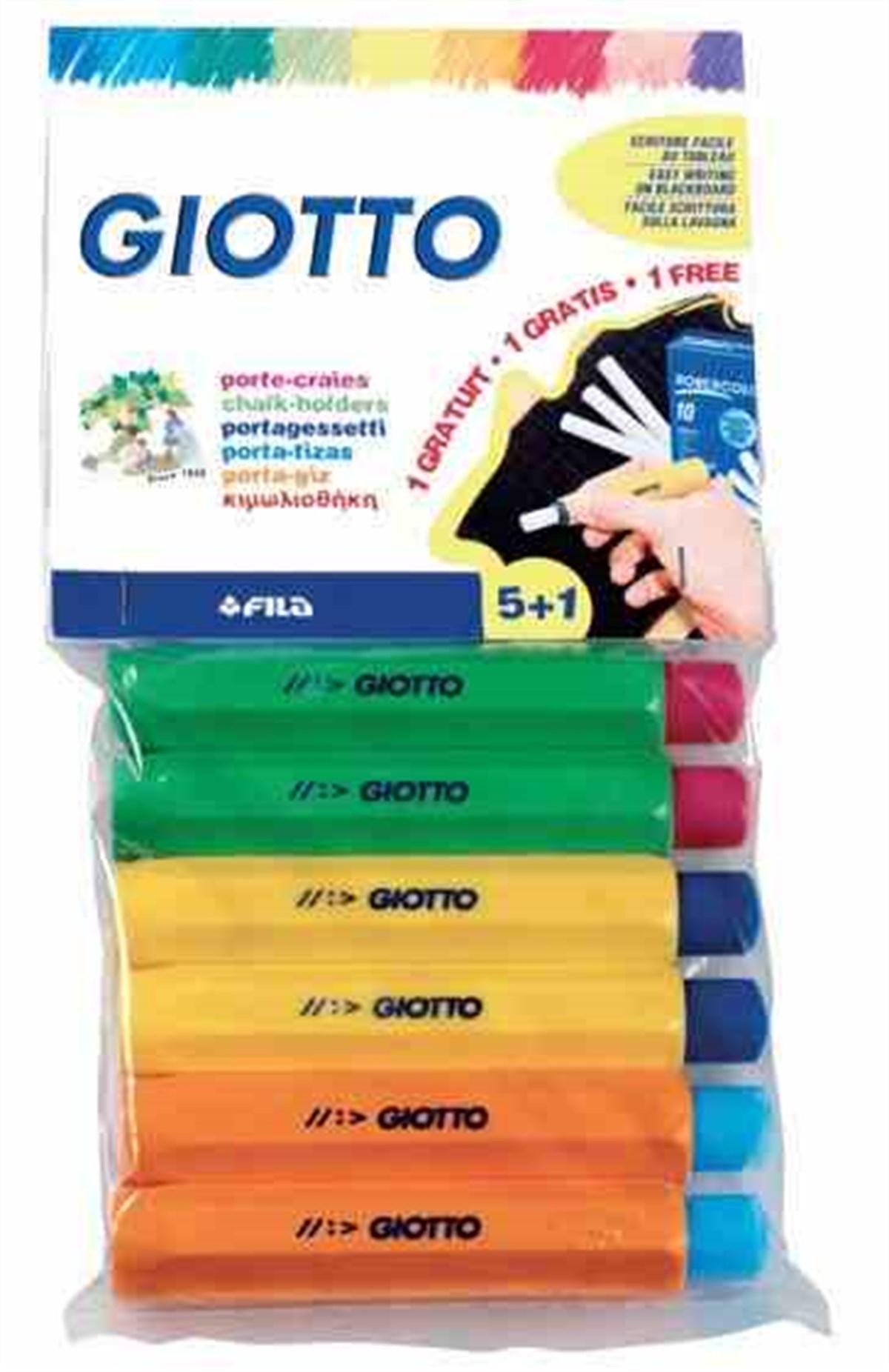 Giotto Tebeşir Tutacaği Plastik 5+1 692300 intérieur Paper Toy Gratuit